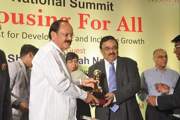 shriram properties- received 2 Assocham awards