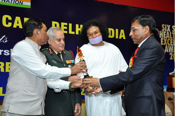 nims chairman received lifetime achievement award