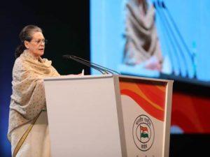 Sonia Gandhi defines BJP