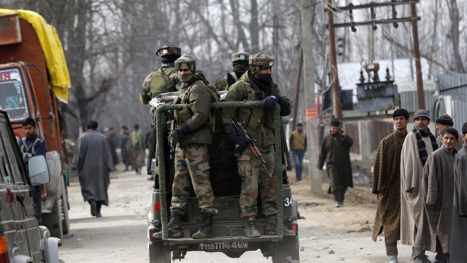 encounters across South Kashmir