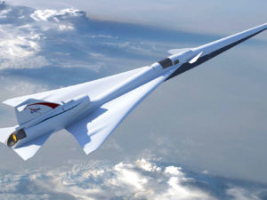 nasa supersonic flight
