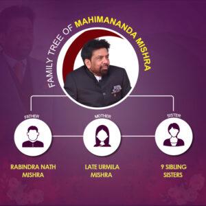 Mahimananda Mishra Family tree